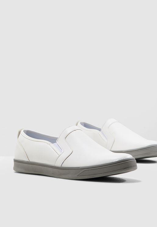 6a158c11b4b Faux Leather Casual Slip ons