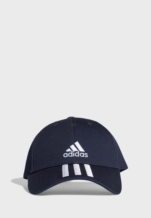 3 Stripe Baseball Cap
