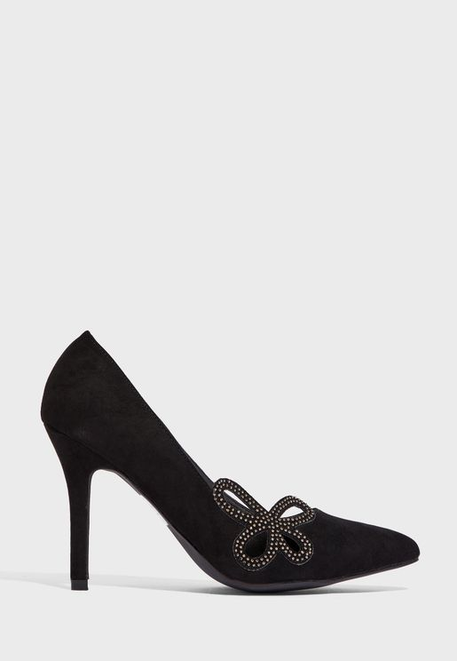 Diamante Detail Pumps