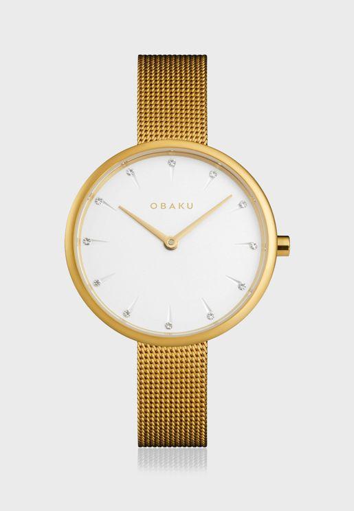 Notat Mesh Strap Watch