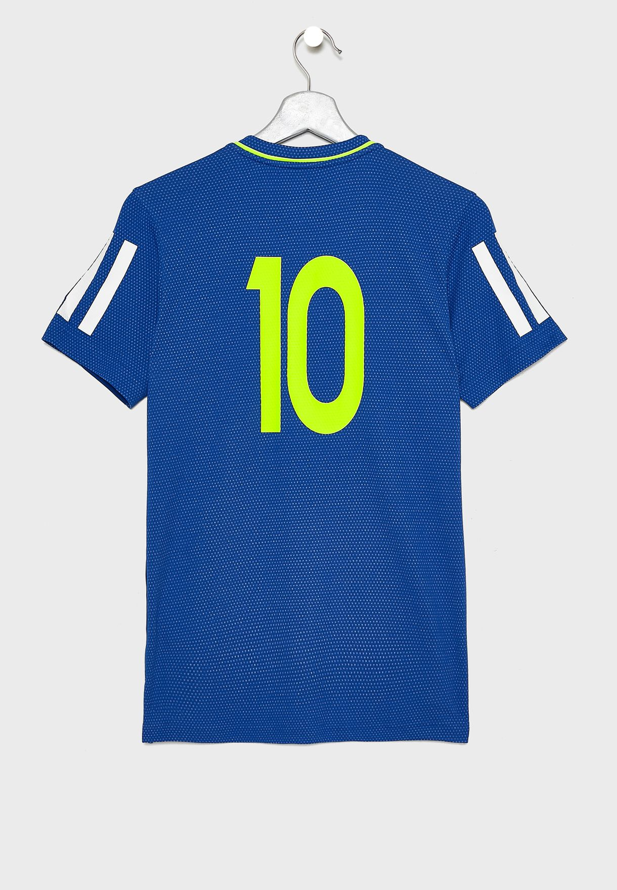 7c6e01b06 Shop adidas blue Youth Messi Icon T-Shirt ED5718 for Kids in UAE ...