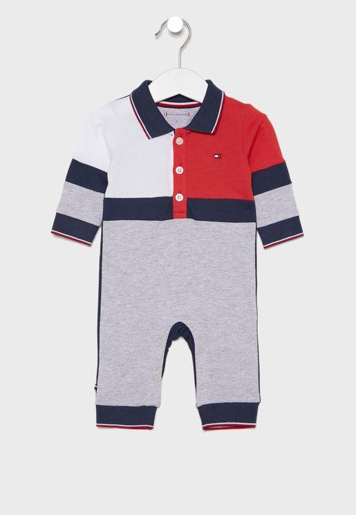 Infant Color Block Bodysuit