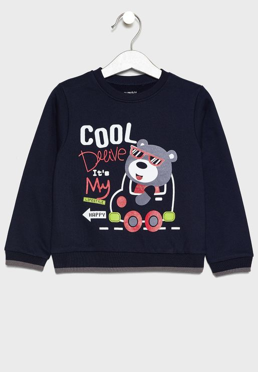Little Graphic Sweatshirt