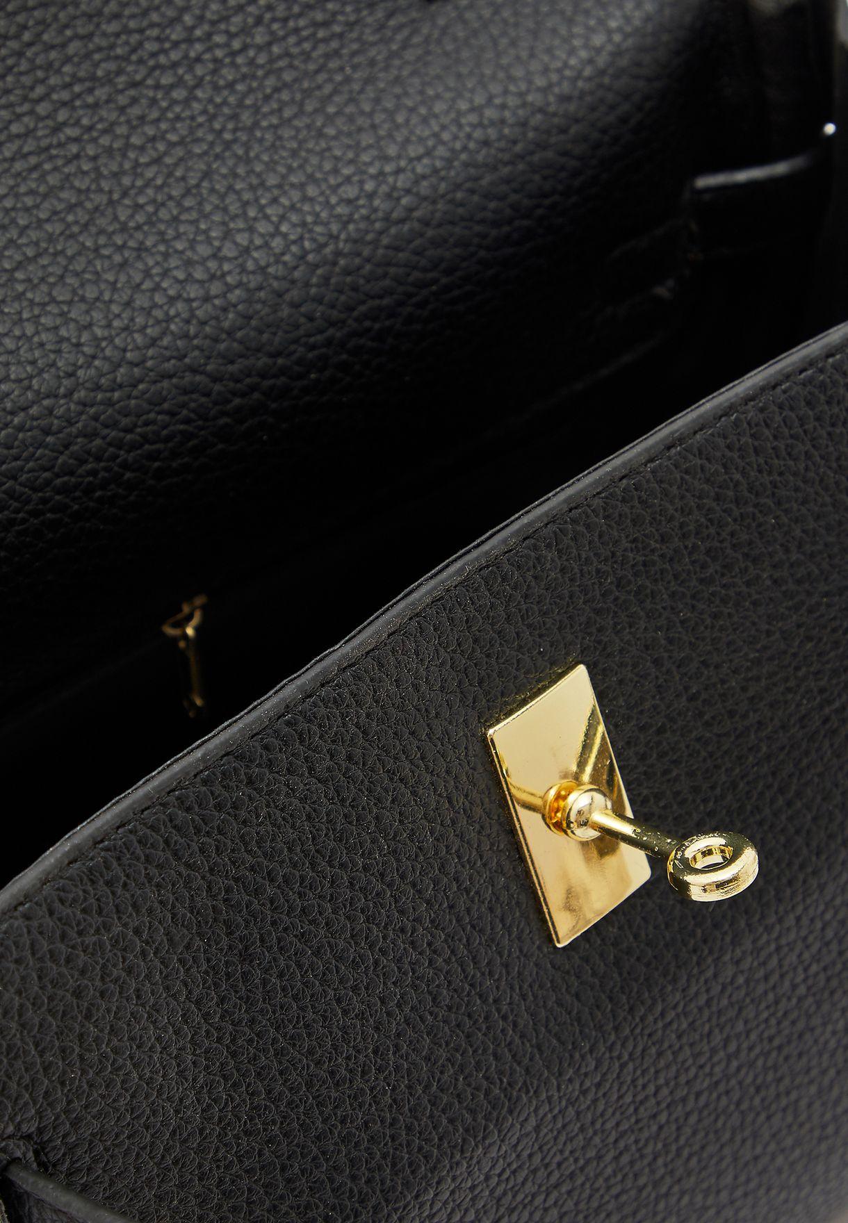 Scarf Tie Handle Handbag