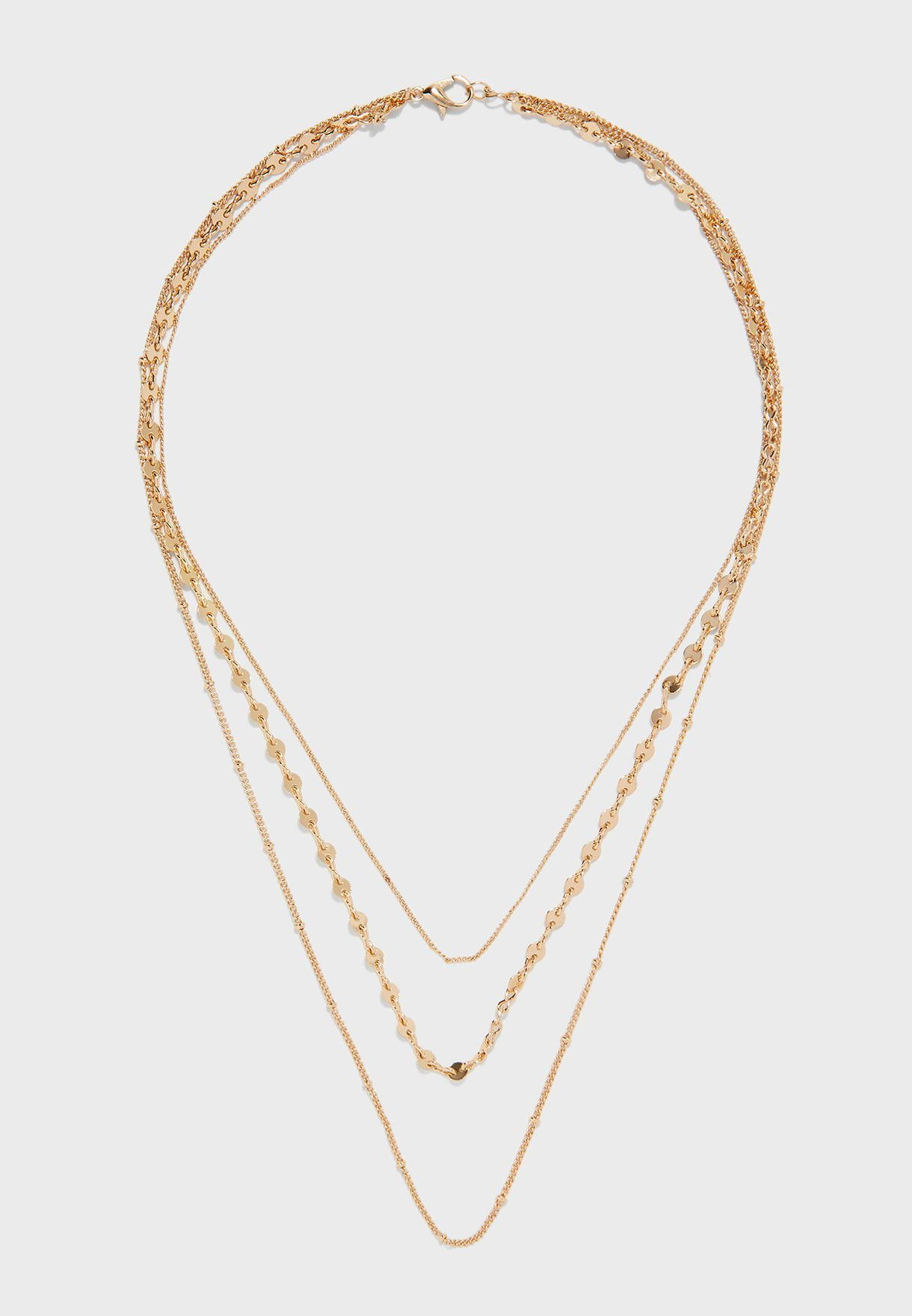 Cande Waterfall Layered  Necklace