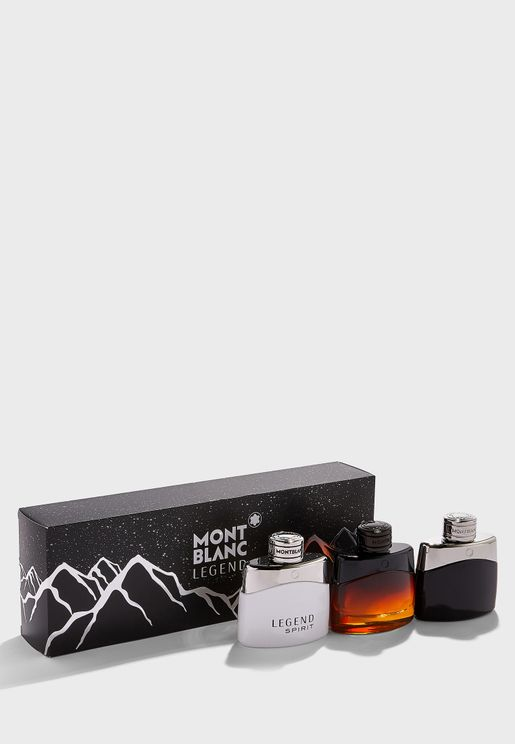 Trio 50ml Set - Classic + Spirit + Night