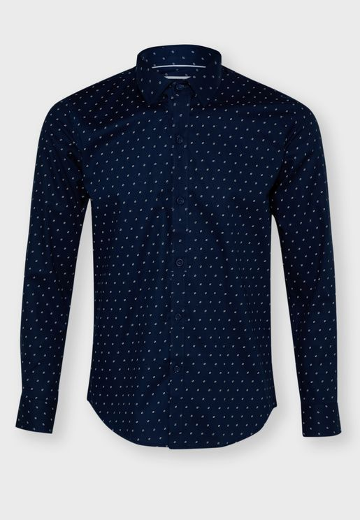 Diamond Print Shirt