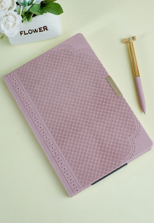 A5 Brogue Geo Notebook