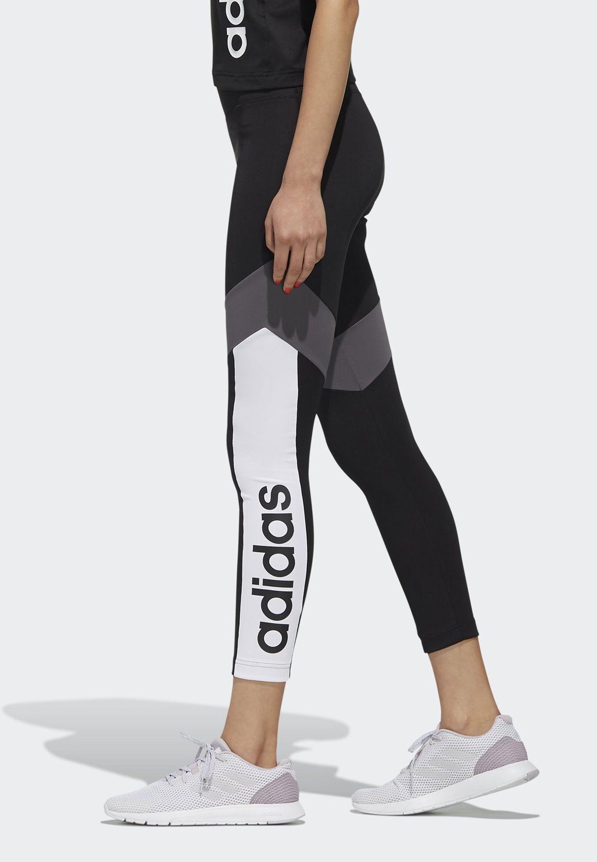 D2M Colour Block 7/8 Leggings