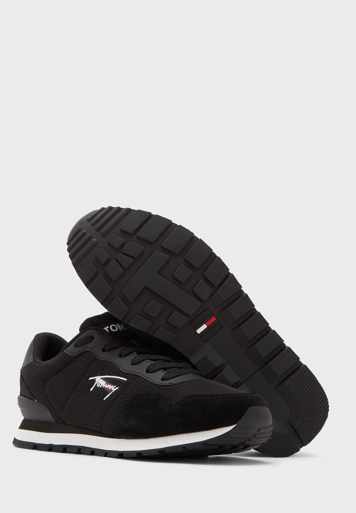 Logo Printed Low Top Sneaker