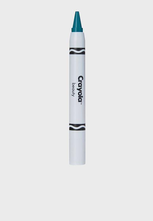 Face Crayon - Steel Blue