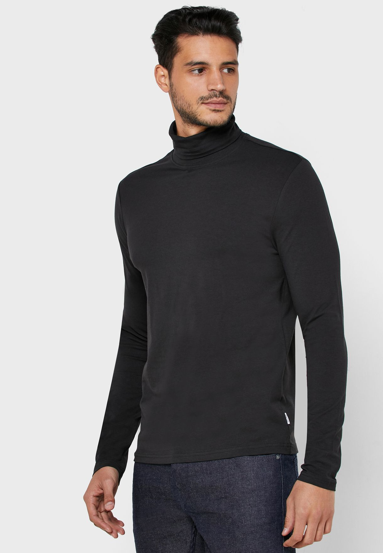 Michan Roll Neck T-Shirt