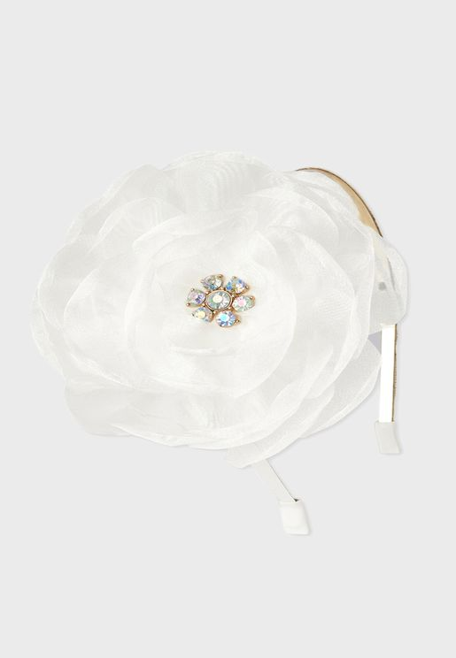 Kids Flower Detail Headband