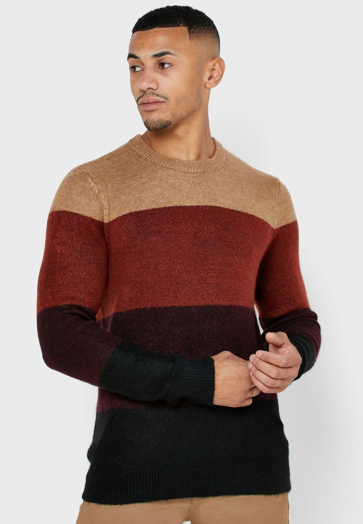 Harlow Block Stripe Sweater