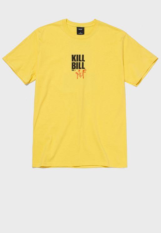 تيشيرت بطبعة كيل بيل
