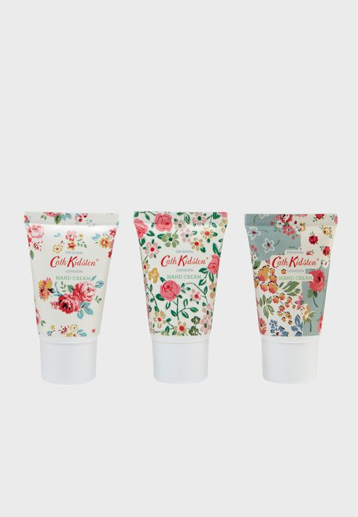 3 Pack Cottage Patchwork Hand Cream 30ml