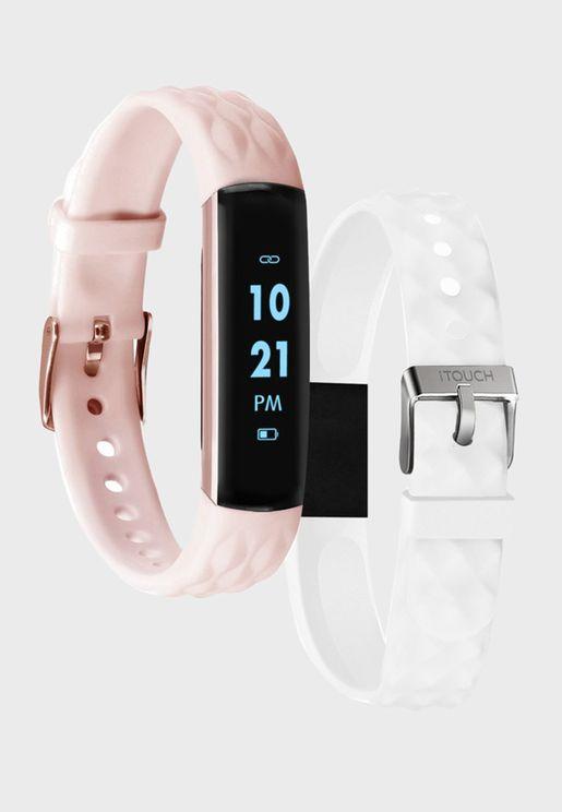 Fitness Tracker Slim Smart Watch