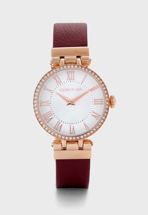 Elettra Analog Watch