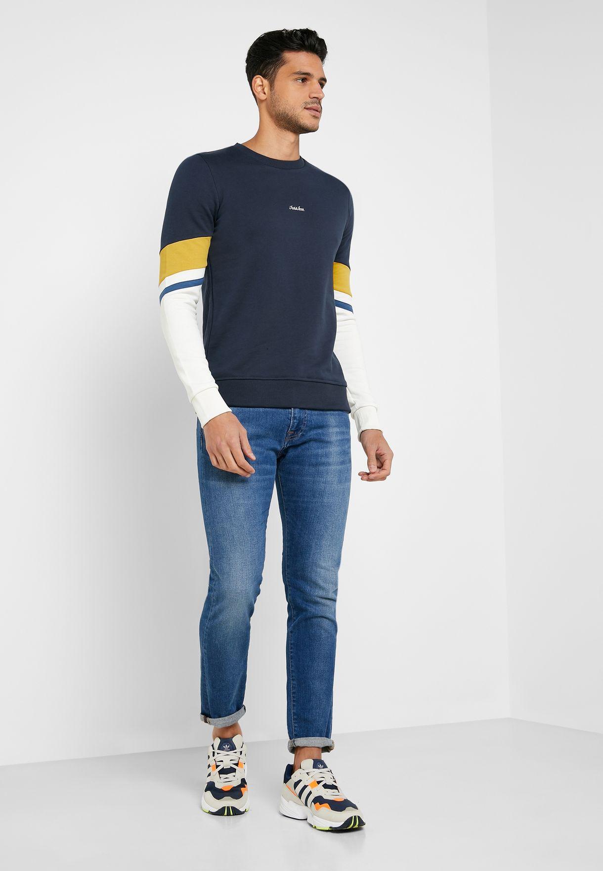 Malte Slim Fit Sweatshirt