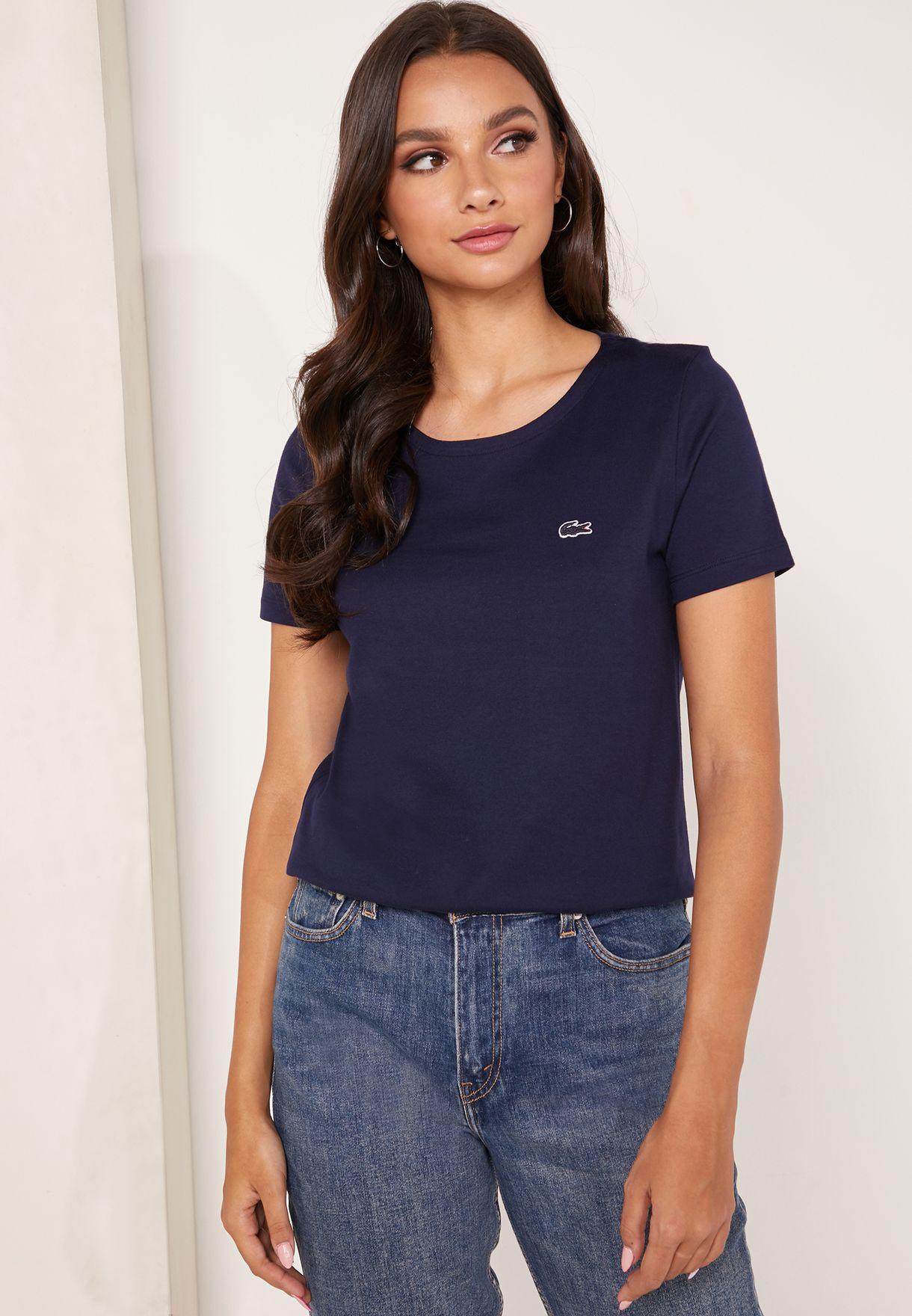 707ac576 Round Neck Logo T-Shirt