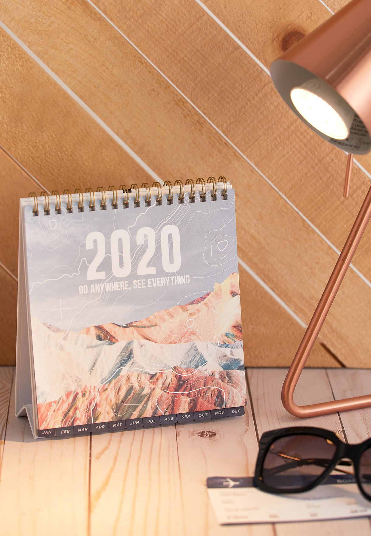 2020 Desk Calender