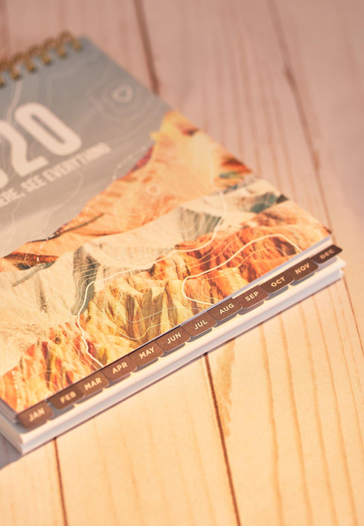 تقويم مكتبي2020
