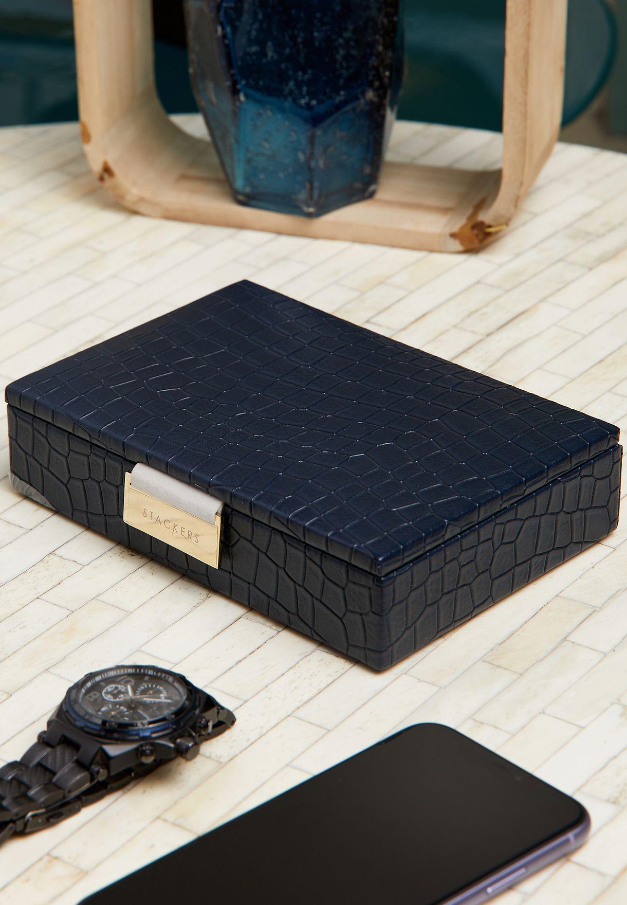 Croc Jewellery Box