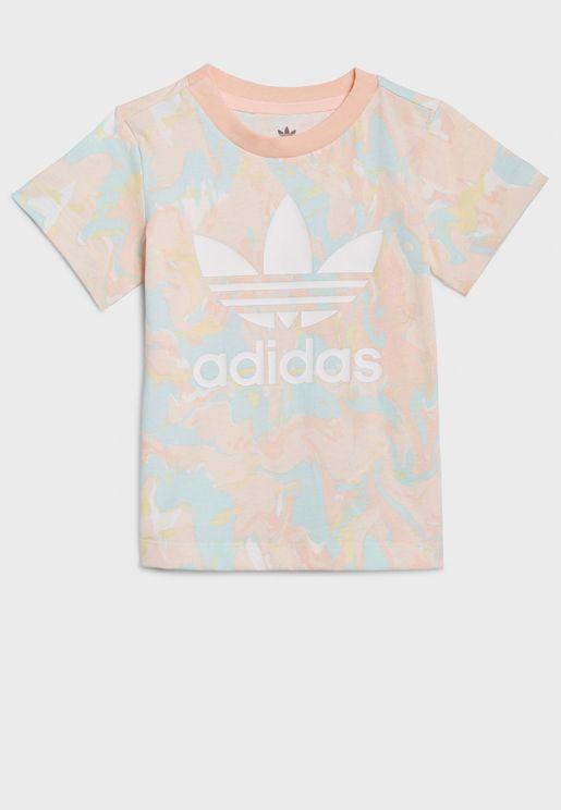 Infant Marble Aop T-Shirt