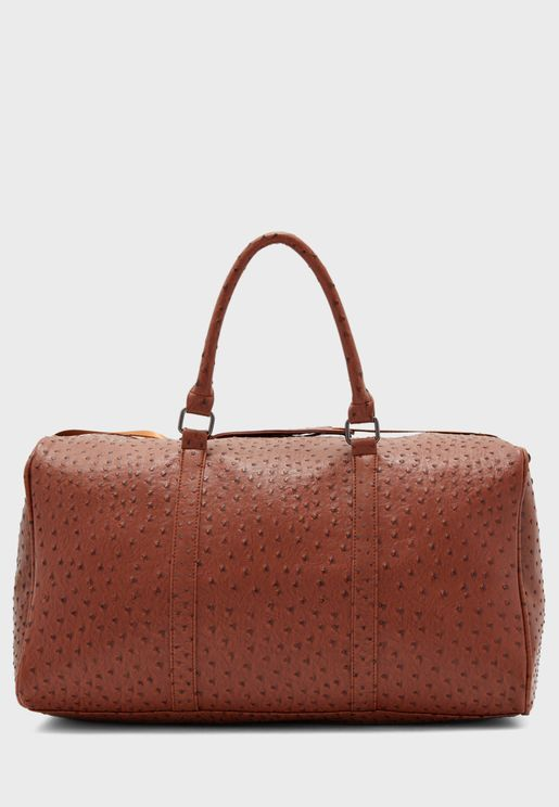 Ostrich Weekend Bag