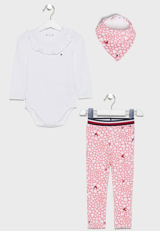 Infant 3 Piece Gift Set