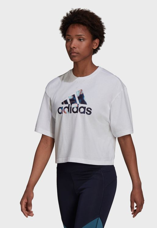 You For You Cropped T-Shirt