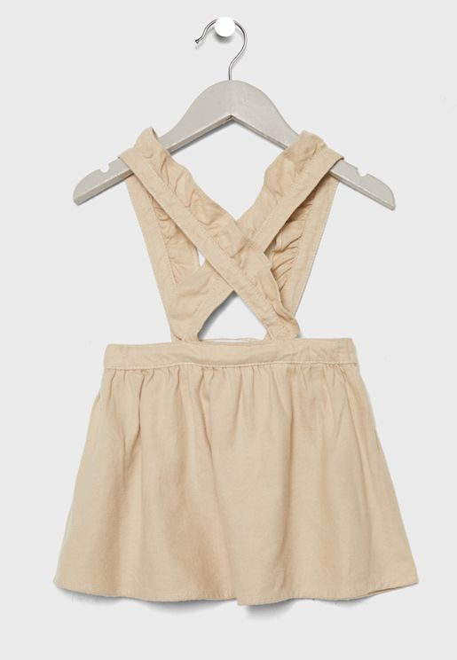 Infant Skirt with Straps