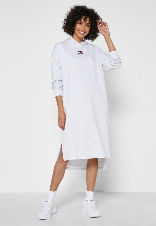 Hooded SHift DRess