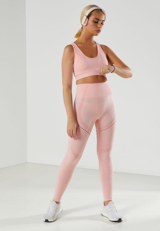 Strappy Sports Bra & Legging Set