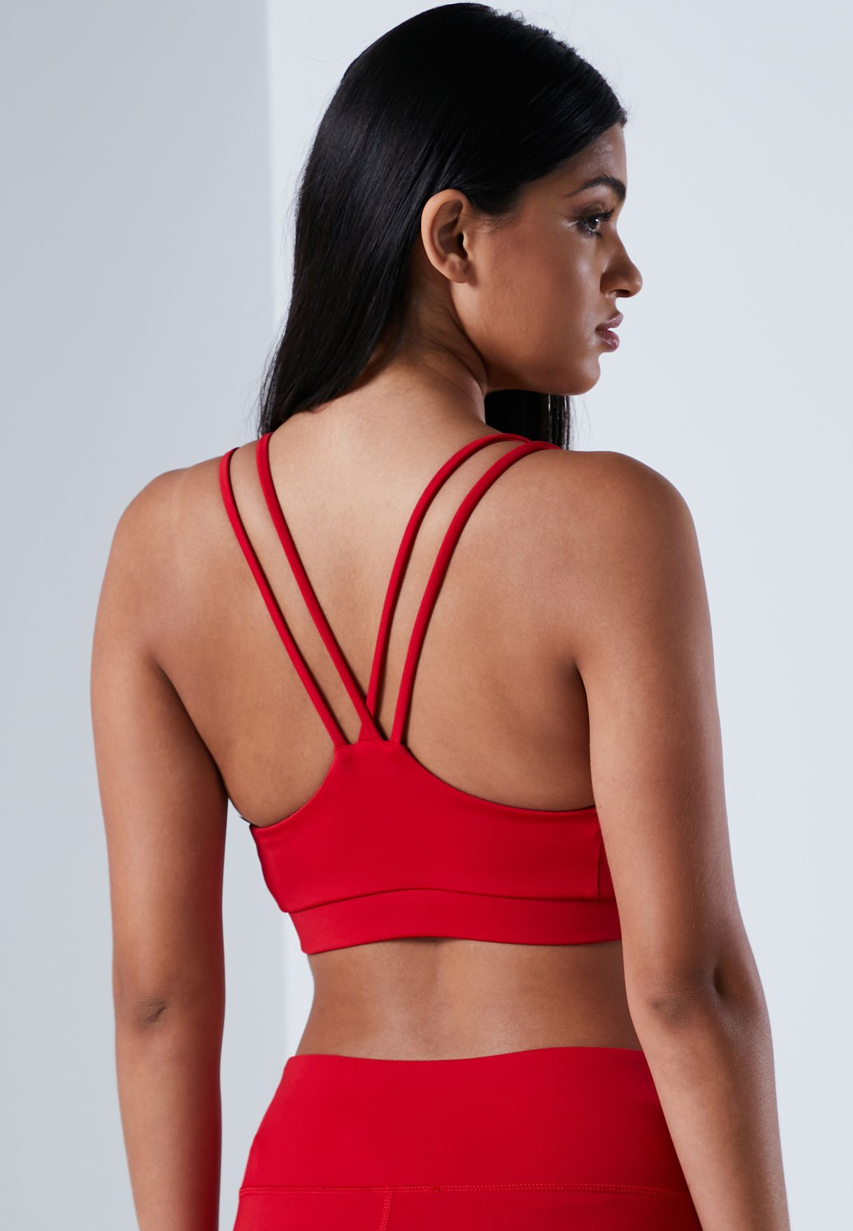 Piping Low Support Bra