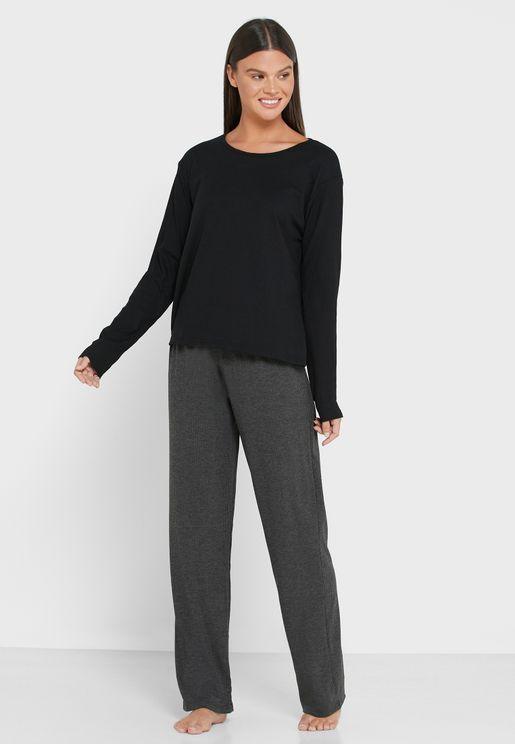 Long Sleeves Pyjama Set
