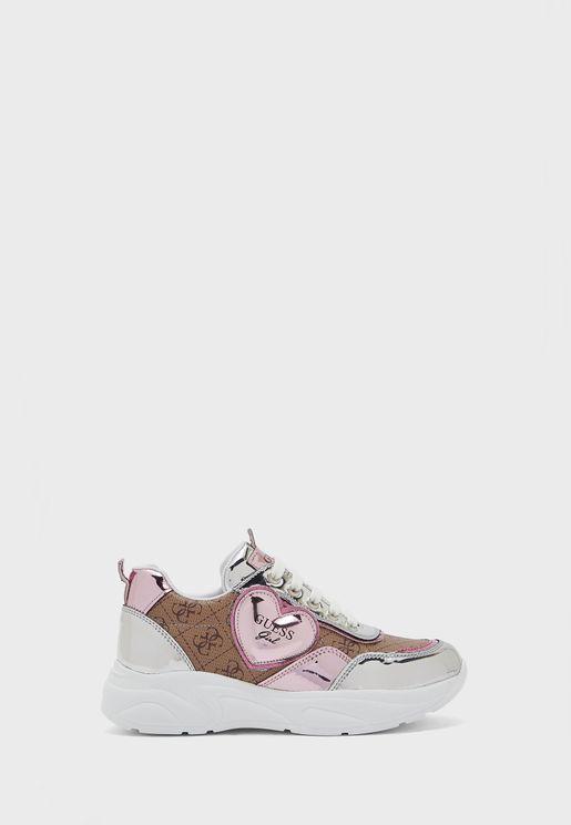 Kids Printed Sneaker