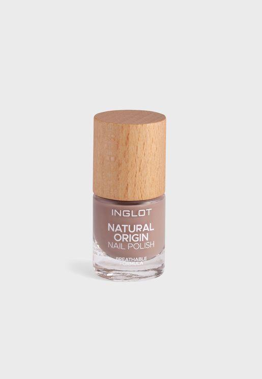 Natural Origin Nail Polish Coffee Mousse 013