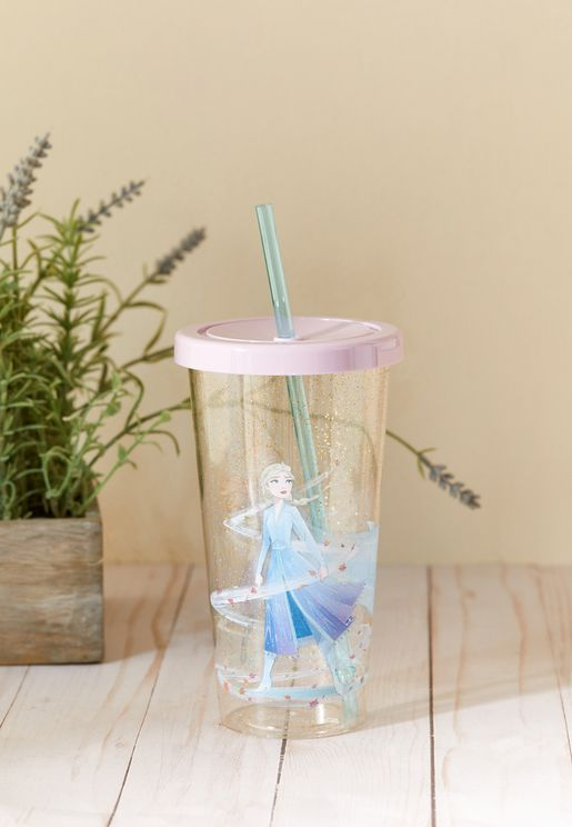 Frozen 2 Flask With Straw