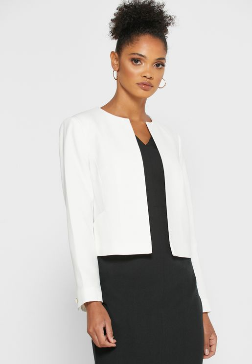 Front Open Tailored Jacket