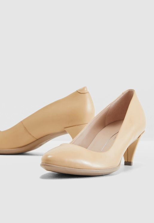 حذاء جلد اصلي بمقدمة مدببة