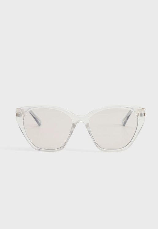 Rose Acetate Frame Sunglasses