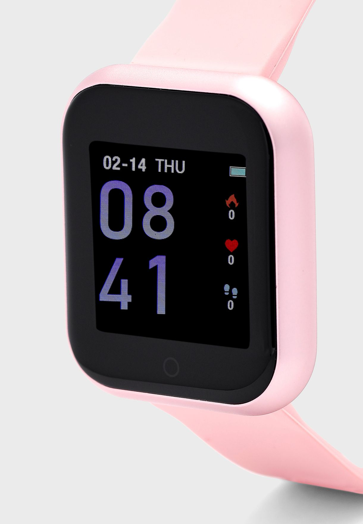 ساعة ذكية مع حزام قابل للتبديل