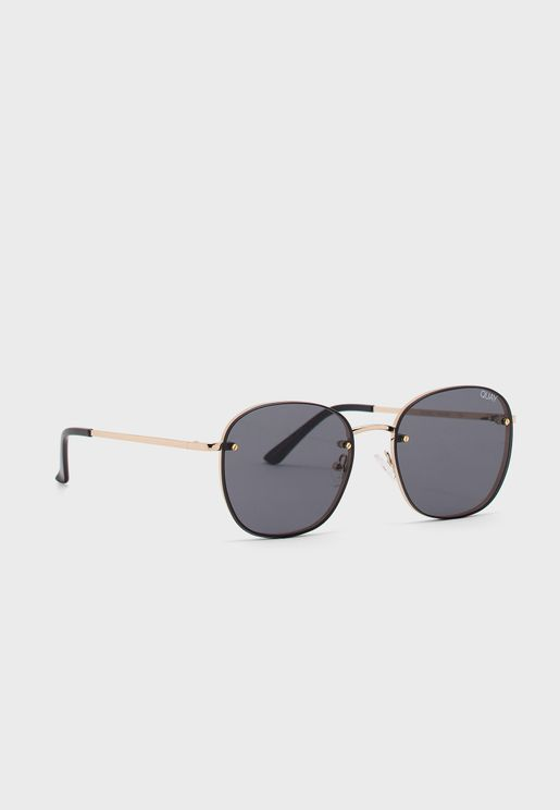 Jezabell Rimless Sunglasses