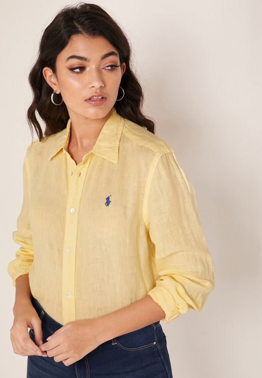 Relaxed Fit Logo Shirt
