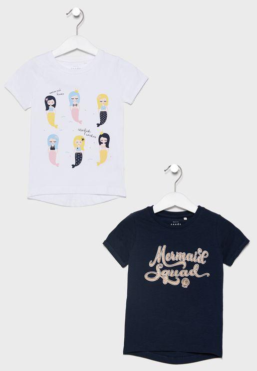 Kids 2 Pack T-Shirt