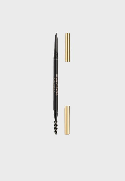 قلم حواجب للتحديد والملء - بني داكن