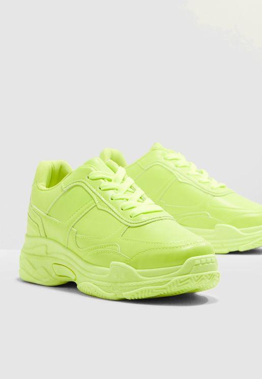 Neon Dad Sneaker
