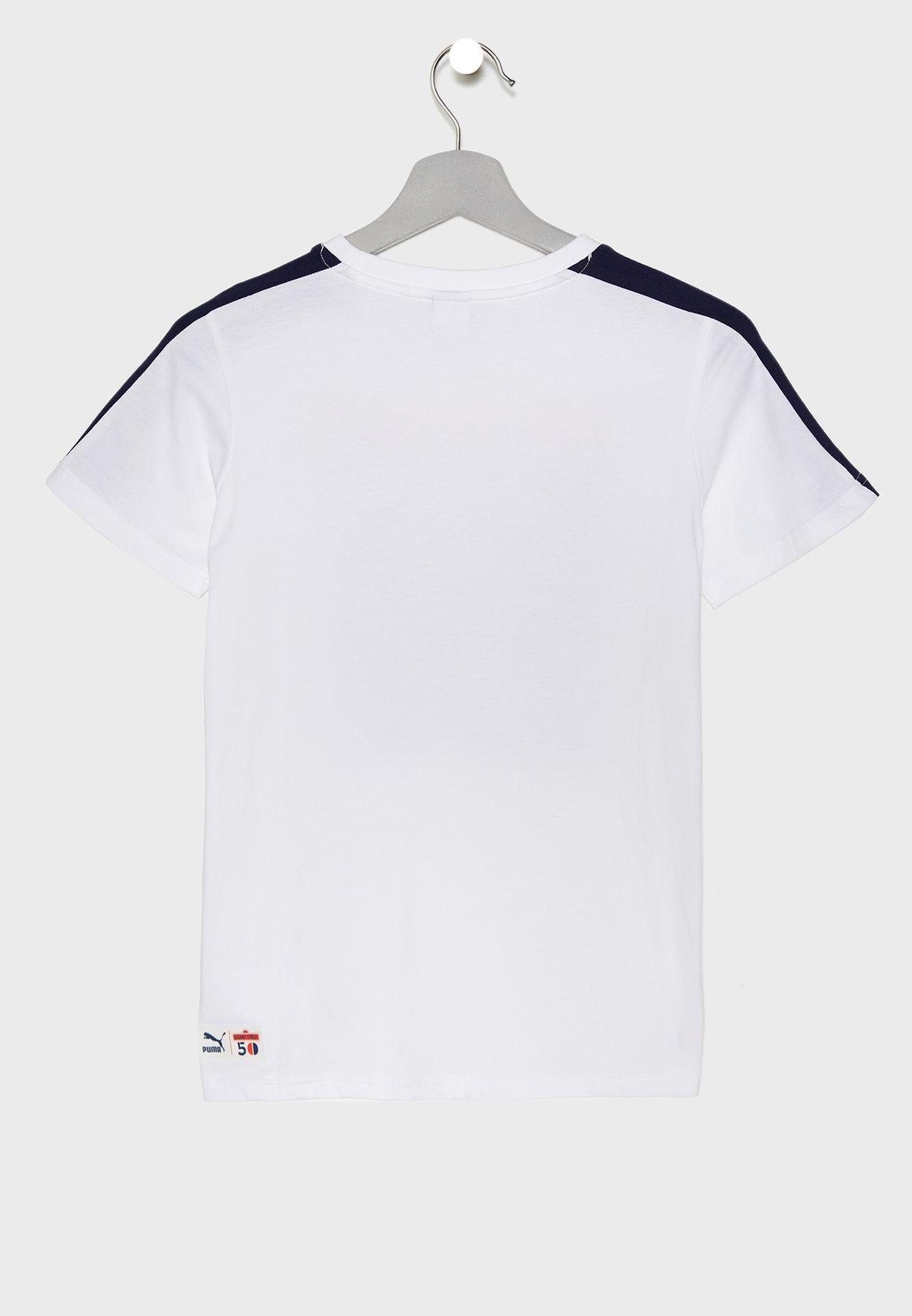 d5954a435ff4 Shop PUMA white Kids Sesame Street T-Shirt 85447602 for Kids in ...
