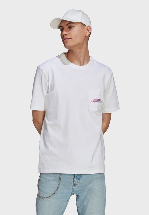 Adventure Pocket Logo T-Shirt